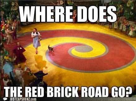Dorothy,Judy Garland,mind blown,movies,questions,roflrazzi,the wizard of oz,wtf,Yellow Brick Road