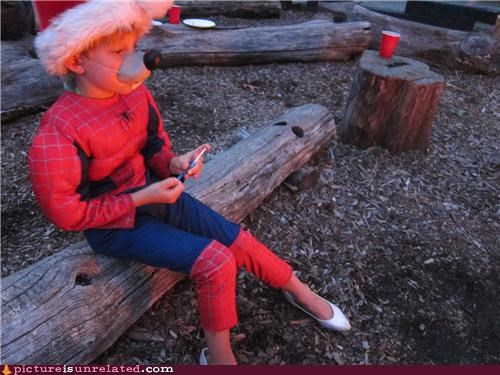 costume kid Spider-Man wtf - 5228463616