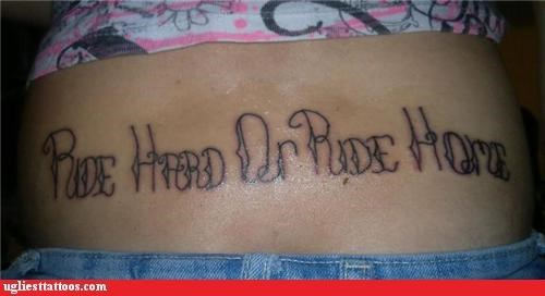 sexual tramp stamps words - 5228571392