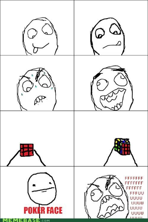 FAIL Rage Comics red rubicks-cube - 5228665088