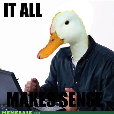 duck,Net Noob,sense