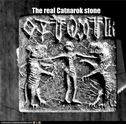 The real Catnarok stone