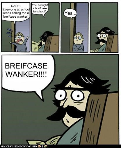 briefcase inbetweeners stare dad twilight the reckoning