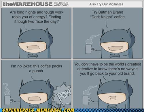 advertisement Awesome Art batman coffee - 5228888832