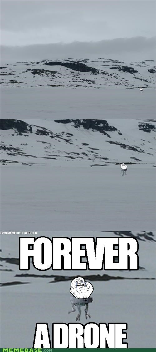 drone,forever alone,snow,star wars,what