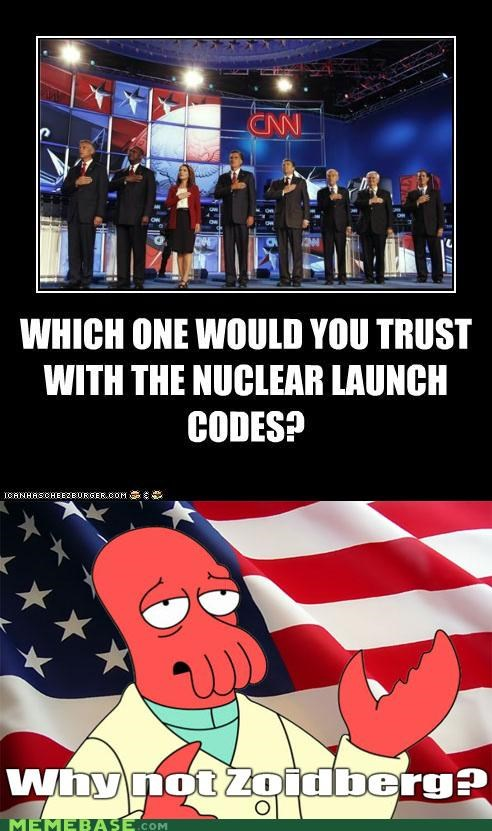 codes launch nuclear trust Zoidberg