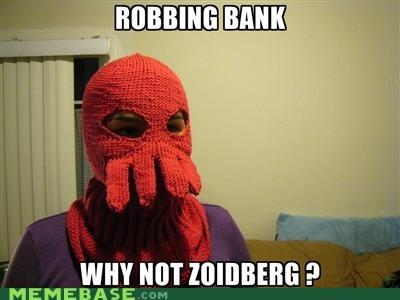bank mask robber Zoidberg - 5229276928