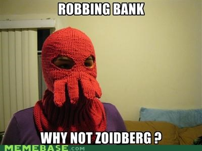 bank mask robber Zoidberg - 5229276928