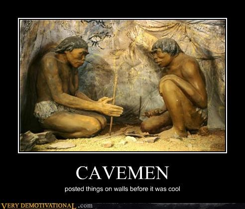 cavemen hilarious hipsters posting walls - 5229355776