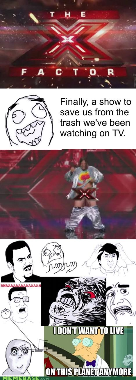 i dont want to live on this planet anymore TV world x factor - 5229424896