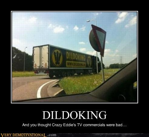 dildoking,hilarious,truck,wtf