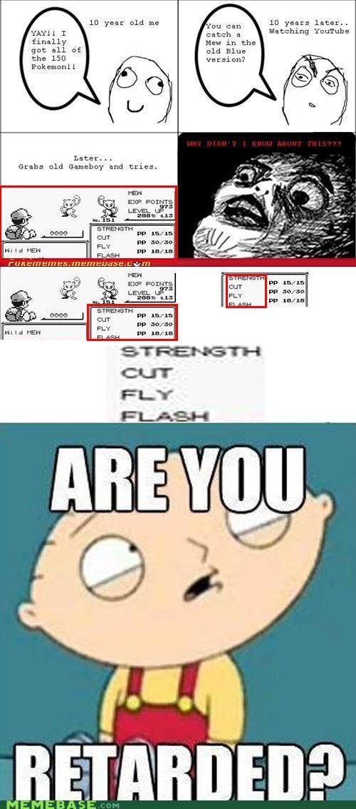catch family guy gameboy hms meme mew rage comic Rage Comics Reframe - 5229563136