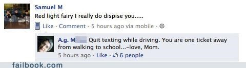busted driving mom oh snap parents