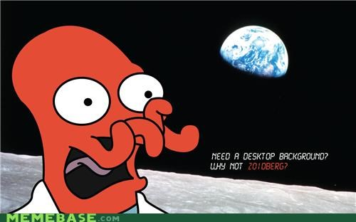 background desktop earth futurama wallpaper Zoidberg - 5229818368