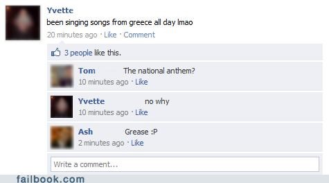 grease,greece,Songs,spelling