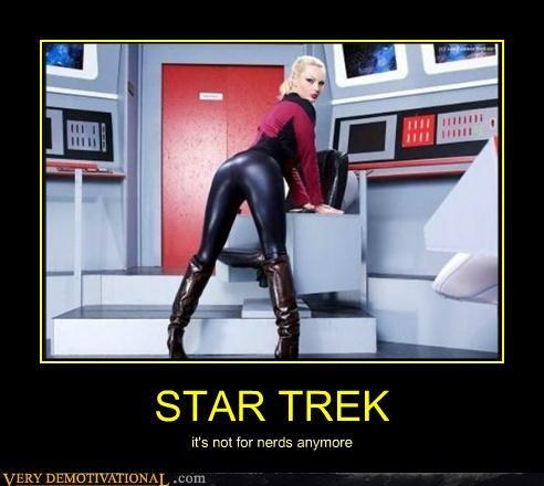 hilarious,nerds,Sexy Ladies,Star Trek