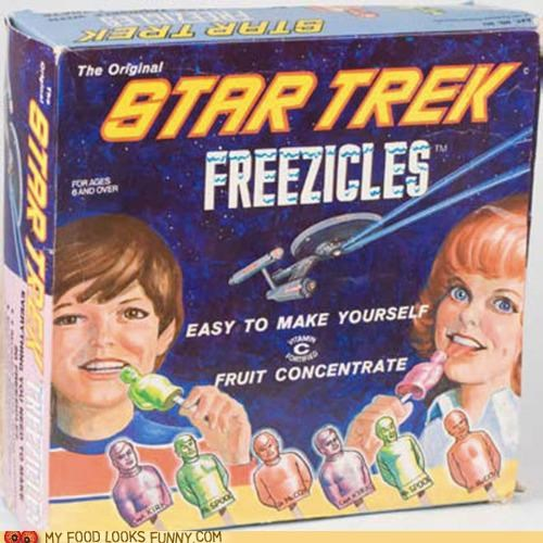 box packaging popsicles Star Trek Terrifying