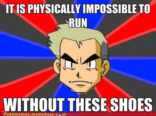 best of week insoles meme Memes professor oak running shoes - 5230056704