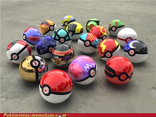 best of week,IRL,master ball,Pokeballs,use all the balls
