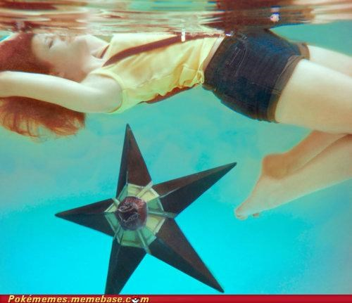 awesome best of week cosplay FTW IRL misty staryu underwater - 5230095360