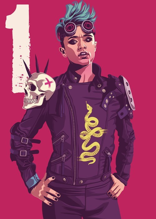 Mad Max Game of Thrones Fan Art sand snakes dorne season 5 - 523013