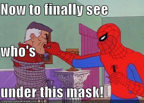Jameson mask skull Spider-Man Super-Lols - 5230298368