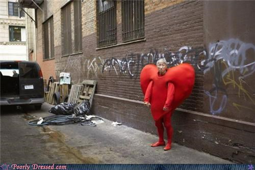 alley,costume,heart