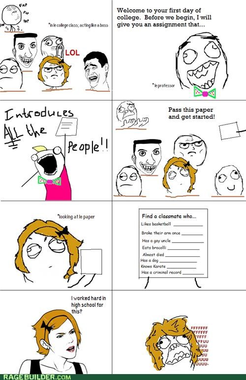 annoying college easy Rage Comics - 5230397952