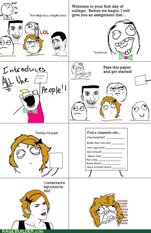 annoying college easy Rage Comics - 5230397952