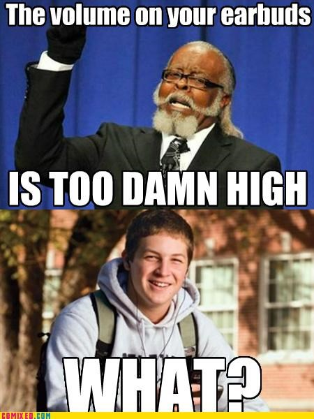 Bieber earbuds freshman frosh jimmy mcmillan meme Music the internets too damn high - 5230406400