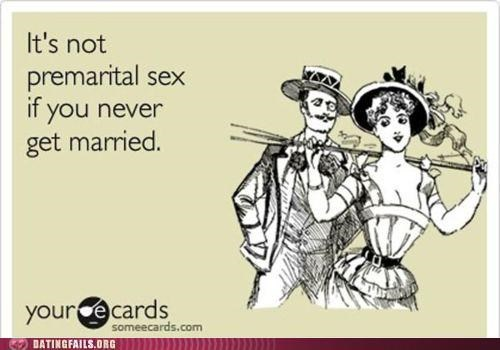 ecard,marriage,premarital sex,sex,We Are Dating