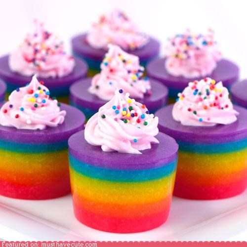 alcohol best of the week cake cocktail colors epicute rainbow shots - 5230789120