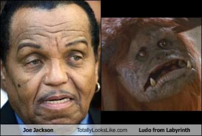 "Joe Jackson Totally Looks Like Ludo from ""Labyrinth"""