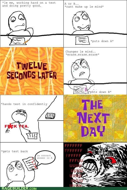 Rage Comics school fail test - 5231013120