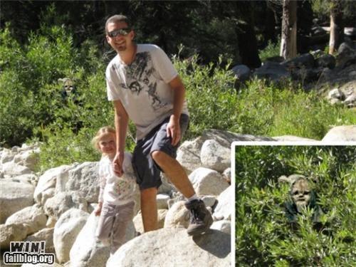 dad ewok kid nerdgasm parenting photoshop return of the jedi star wars