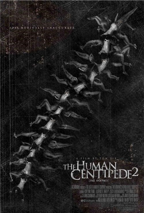 movie poster the human centipede Tom Six