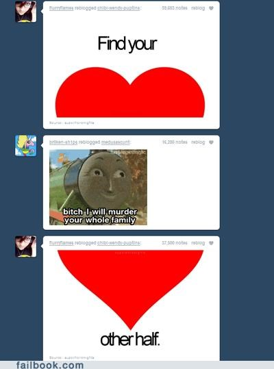 combo breaker,thomas the tank engine,tumblr,wtf