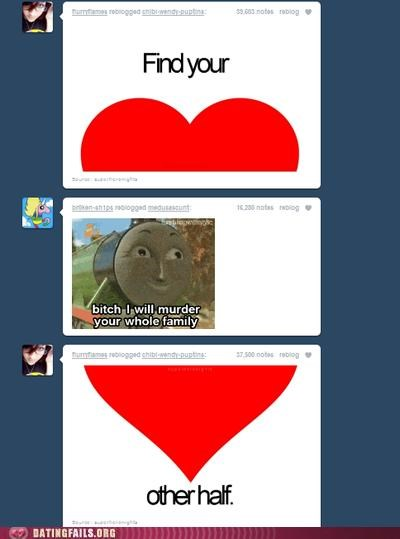 heart heartbreaker other half thomas the tank engine tumblr We Are Dating - 5231207424