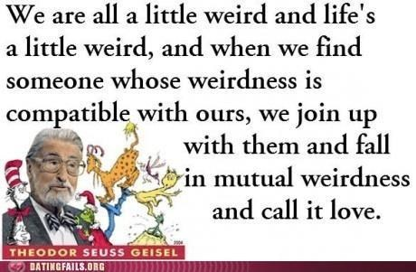 dr seuss Hall of Fame match quote weird - 5231451904