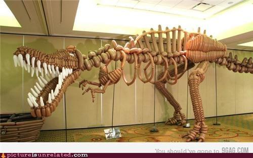 Balloons dinosaur wtf - 5231472640
