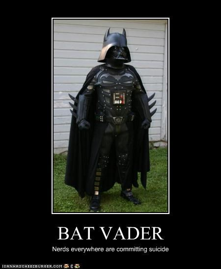 BAT VADER Nerds everywhere are committing suicide