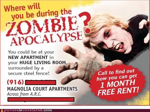 apocalypse landlord wtf zombie - 5231865856