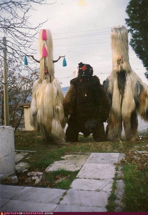 creepy hair tribe wtf - 5232093184