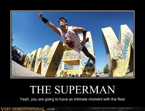 falling,floor,hilarious,Photo,superman