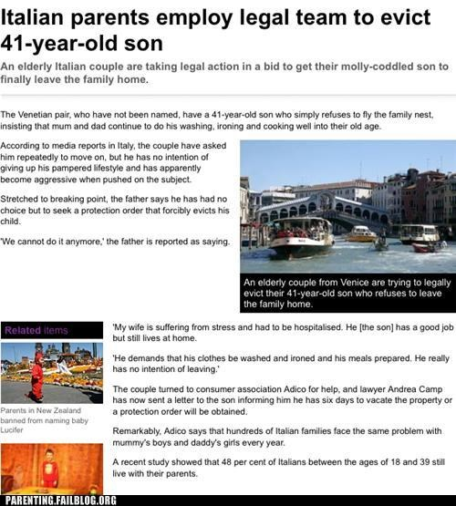 gtfo moving out oh Italy Public Parenting News - 5233050112