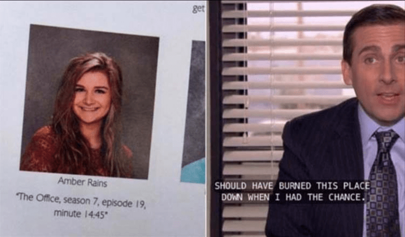 epic yearbook quotes that are written in paper and can't be taken back so easily