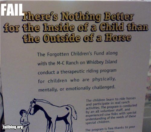 failboat,horses,innuendo,not for kids,signs,wtf