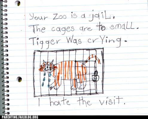 animals,drawing,so sad,tears,zoo