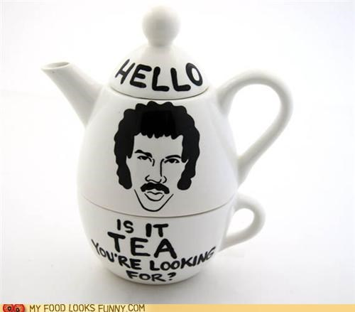 hello,lionel richie,lyrics,set,tea,teacup,teapot