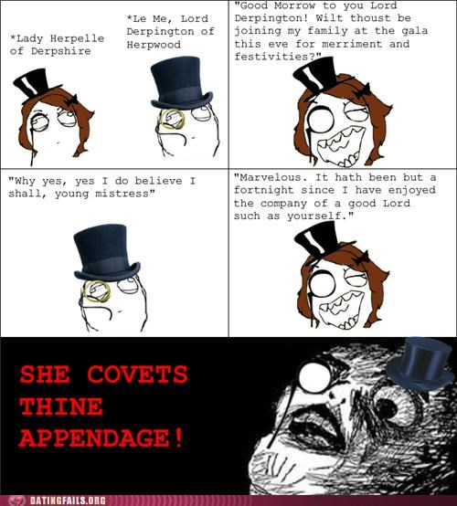 aristocrat British comic england old school old style rage comic We Are Dating - 5233723136